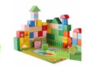 有的圆来有的方,五颜六色真漂亮,不用时候盒裹睡,忙时搭桥盖楼房(打一玩具)谜底及原因
