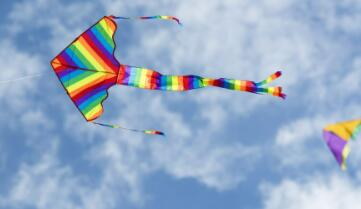 青竹蓝环,飞过高山,风吹不怕,只怕小雨弹(打一玩具)谜底及原因